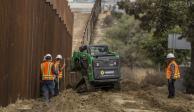Comienza en febrero la construcción del muro fronterizo: gobierno de EU