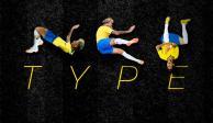Breves del Mundial; Ney Type, la tipografía inspirada en Neymar