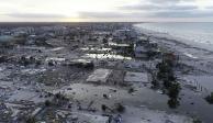 Suman 11 muertos en Estados Unidos por huracán Michael