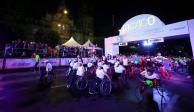 Maratón de la CDMX inicia con atletas sobre silla de ruedas