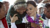 Confía Mayorga en que pobladores indígenas la favorezcan con el voto