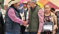 Entrega Del Mazo apoyos al agro por $45 millones
