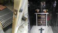 Saquean tumba de María Félix en el Panteón Francés