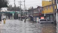 FOTOS: Por lluvias, encharcamientos y granizo activan alerta amarilla en CDMX