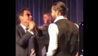 VIDEO: Marc Anthony besa a Maluma durante concierto en NY