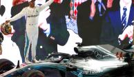 Lewis Hamilton se lleva victoria de GP de F1 en Abu Dhabi