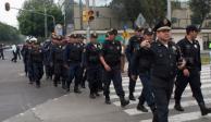 Vigilan 1,500 policías sede del debate entre candidatos a la CDMX