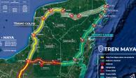 Alista López Obrador diálogo con gobernadores sobre Tren Maya