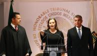 Rinde Martha Erika Alonso protesta como gobernadora  de Puebla