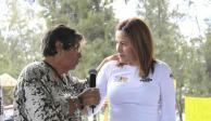 Propone Karen Quiroga dar continuidad a cosecha de agua y pozos de absorción