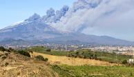 ️ULTIMA HORA Fuerte Erupción del Mt Etna en Italia. 24122018. - - Previo a la erupción hab