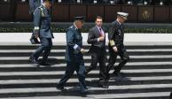Presencia de Fuerzas Armadas donde se requiera y el tiempo necesario, afirma EPN