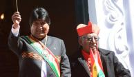 Roban máximos emblemas patrios de Bolivia... mientras guardia visitaba prostíbulo