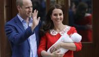 Kate Middleton da a luz a un bebé varón
