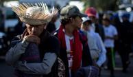 Sale segunda caravana de migrantes de la Ciudad de México