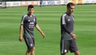 Rafa Márquez entrena sin publicidad en uniforme