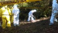 Localizan restos óseos en fosa clandestina en Chilpancingo
