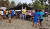 Atiende Guerrero zonas afectadas por huracán Bud