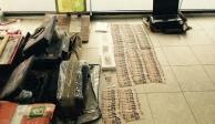 VIDEO: Desmantelan fábrica de billetes falsos en Iztapalapa; caen cuatro
