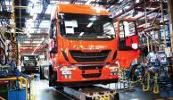 Venta de camiones sube 37.2 por ciento en julio