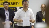 En cómputo de actas gana PRI en Monterrey