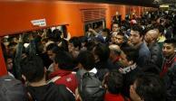 Usuarios de la Línea 2 del STC sufren retrasos por marcha lenta de trenes