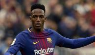 Traspasa el Barcelona aYerry Mina al Everton por 31 millones de euros