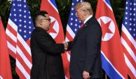 Concretan Donald Trump y Kim Jong-un histórica reunión