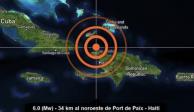 Al menos 11 muertos y 100 heridos en Haití tras terremoto de 5.9 grados