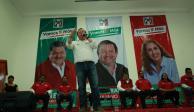 Hoy, firma de compromisos de campaña de candidatos del PRI en MC