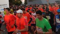 """Arranca """"Medio Maratón CDMX"""" con más de 25 mil participantes"""