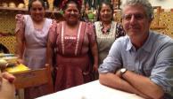 Así fue la relación gastronómica de Anthony Bourdain con México