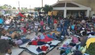 Integrantes de La Mara se cuelan a la caravana; migrantes cuantifican 50