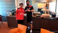 """VIDEO: Ruud Van Nistelrooy elogia al """"Chucky"""" Lozano"""