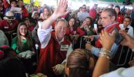 """""""Vamos a defender los empleos, el aeropuerto va"""", garantiza Meade"""