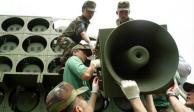Coreas retiran altavoces que emitían propaganda en frontera compartida
