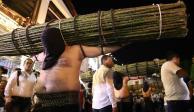 FOTOS: Así fue la representación del Viacrucis en México