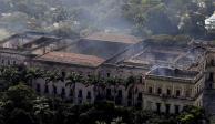 Con tecnología 3D indagan incendio en museo de Brasil