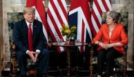 Trump baja tensión con Reino Unido; promete acuerdo comercial bilateral