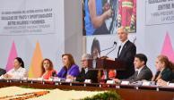 Presenta Del Mazo programa para combatir la violencia contra las mujeres
