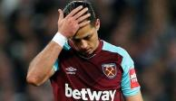 "Con ""Chicharito"" ausente, West Ham cae frente al Burnley"
