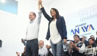 Militantes panistas manifiestan su apoyo a Barrales