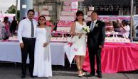 Formaliza GCDMX 32 mil matrimonios civiles en el último año