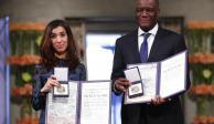 Ganadores de Nobel de la Paz piden fin a violencia sexual