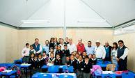 IEnova concluye reconstrucción de escuela afectada por sismos en Puebla