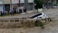 Lluvias intensas convierten en ríos calles en Sinaloa; FOTOS Y VIDEOS