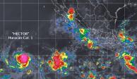 Tormenta Héctor se fortalece a huracán categoría 1 en el Pacífico
