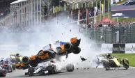 FOTOS: Así fue el espectacular choque de Fernando Alonso