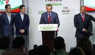 Sale Ochoa Reza de dirigencia del PRI; lo sustituye René Juárez Cisneros