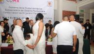 Celebran 362 matrimonios en reclusorios de la CDMX